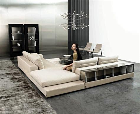 canapé avec bibliothèque intégrée canapé d 39 angle italien meubles de luxe