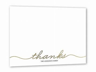 Thank Simple Cards Greetings Regular 5x7