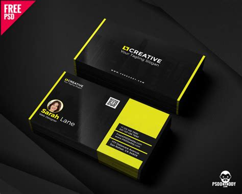 business card psd psddaddycom