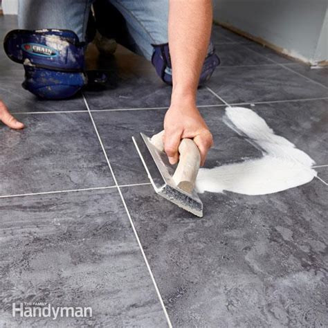 Bathroom Tile Grout Joints