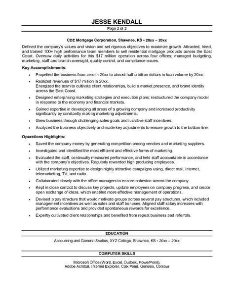 Stock Broker Experience Resume by Free Brokerage President Resume Exle