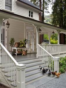 Front Porch Steps Home Design Ideas  Pictures  Remodel And