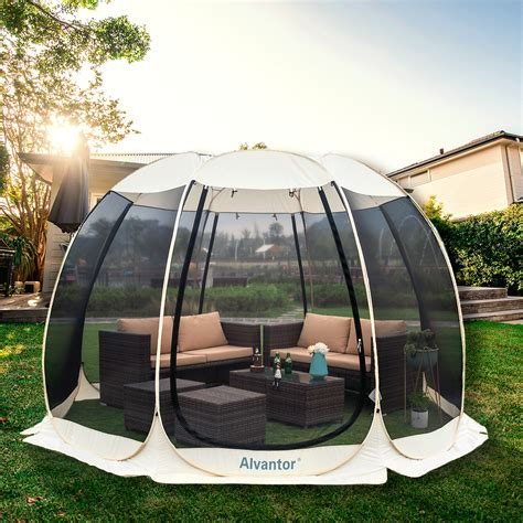 Screen House Room Camping 12x12 Ecru Instant Canopy ...