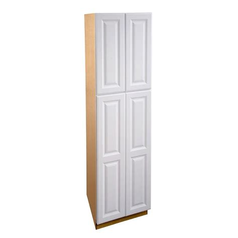 white pantry cabinet home depot home decorators collection hallmark assembled 24x90x24 in