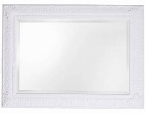 Spiegel Mit Weißem Rahmen : marbella spiegel mit klassischen wei em rahmen ~ Whattoseeinmadrid.com Haus und Dekorationen