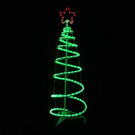 outside christmas tree lights green spiral tree led light xmas decoration indoor