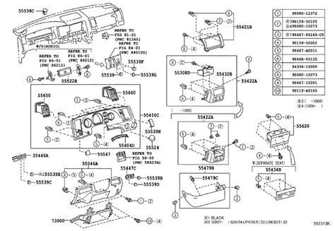 Toyota Tundra Instrument Panel Trim Lower Clutch