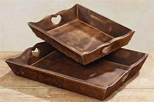 Tablett Aus Holz : tablett holz fell gross 0001362 ~ Buech-reservation.com Haus und Dekorationen
