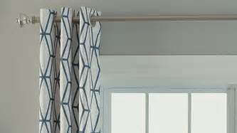 how to hang curtains canadian tire