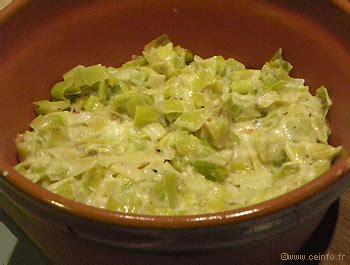 cuisiner le poireau recettes fondue aux poireaux recette de ma maman les légumes
