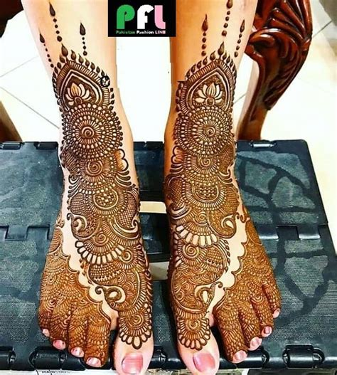floral style foot leg mehndi designs fashion beauty