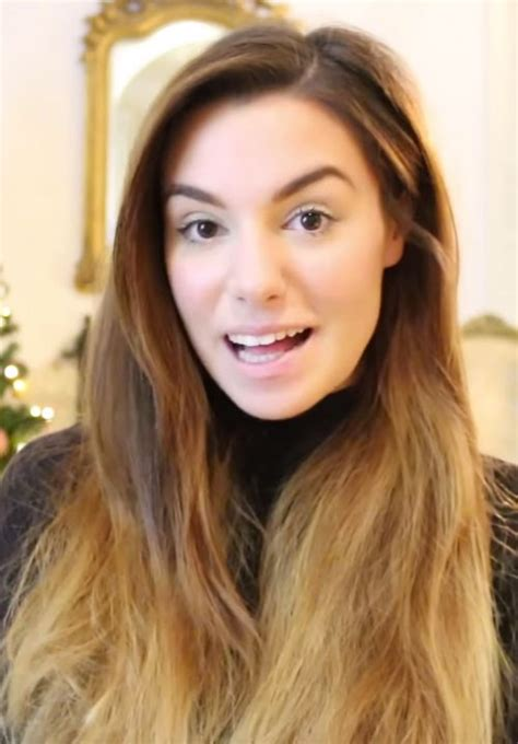 marzia bisognin straight medium brown angled messy ombre