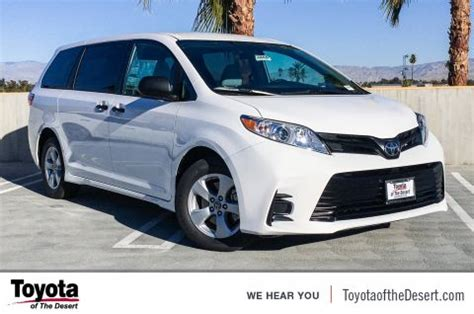 Toyota Payment Calculator by New Toyota Vans For Sale Toyota Of The Desert