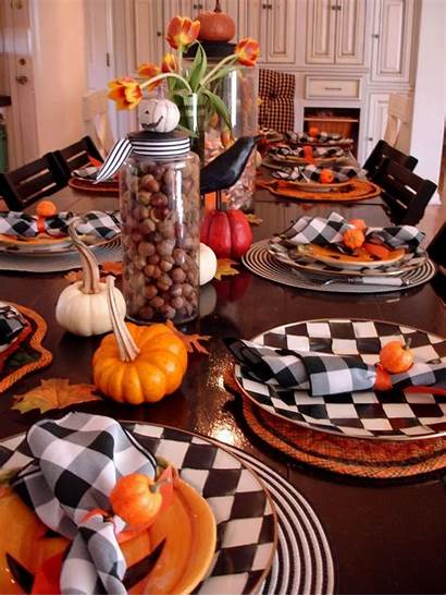 Halloween Table Decorations Decoration Country Decor Decorating