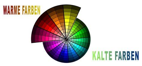 kalte und warme farben die farben einer website farbtemperatur und farbwerte
