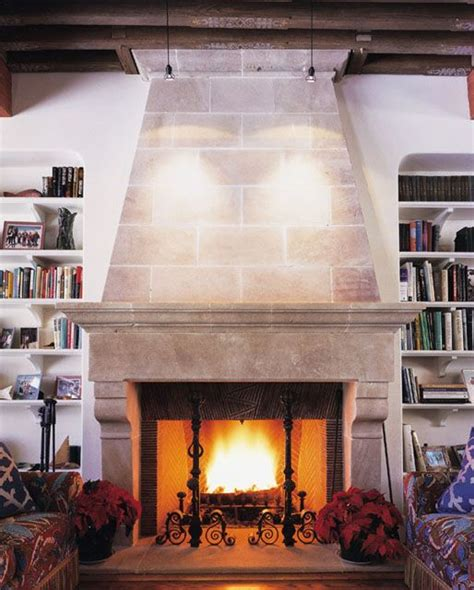 Living Room With Fireplace And Bookshelves by 113 Best French Fireplace Mantels Images On Pinterest