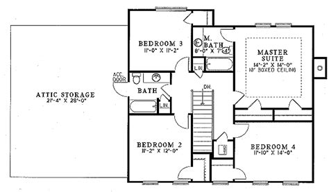 kitchen layout designs southern style house plan 4 beds 2 50 baths 2132 sq ft 2132
