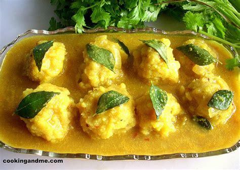 tamil cuisine recipes paruppu urundai kuzhambu brahmin kuzhambu recipes