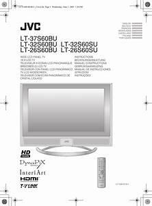 Jvc Lt 37s60bu User Manual Lct1848 001b U En