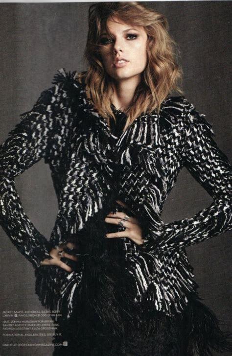 Taylor Swift - Fashion Magazine (Canada) November 2014 ...