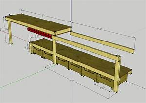 sd: Instant Get Garage workbench plans 2x4