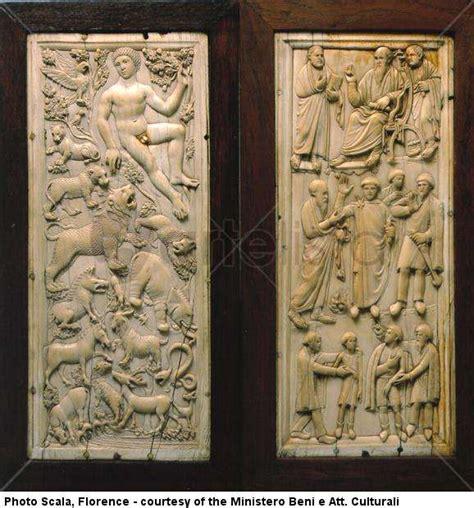 adam and craft diptych of adam and st paul 4tt 5th century bargello 3315
