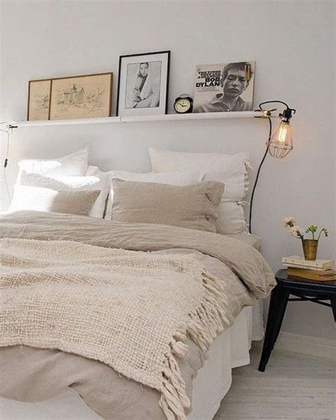 shelf  bed ideas  pinterest shelving  bed simple bedroom decor  cute