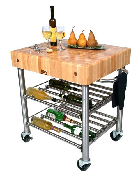 boos kitchen islands boos cucina d 39 amico kitchen wine cart w maple top on