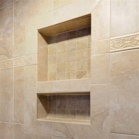 niche for shower wall laticrete hydro ban shower wall niche contractors direct