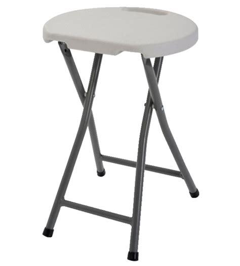 sandusky folding plastic stool white pack of 4