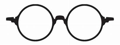 Round Clipart Iglasses Glasses Potter Harry Goggles