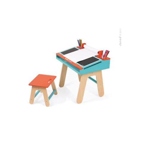 bureau janod bureau et chaise d 39 écolier orange et bleu janod jouet