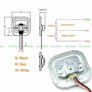 3-wire Load Cells And Wheatstone Bridges From A Bathroom Scale