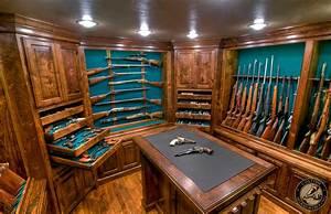 Gun Rooms & Cabinetry — Julian & Sons Fine Woodworking
