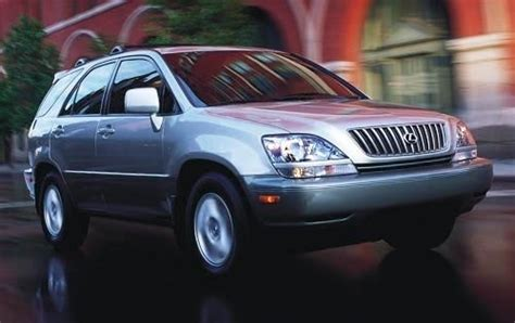 lexus suv 2002 used 2002 lexus rx 300 suv pricing features edmunds