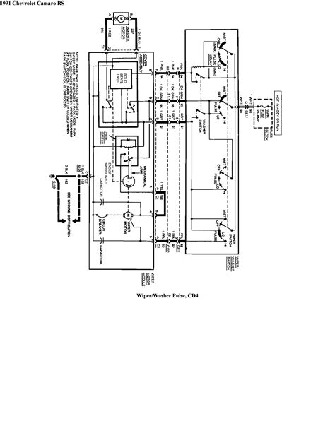 Wiper Motor Wiring Nightmare Third Generation Body