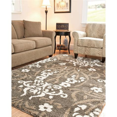 safavieh florida rug safavieh florida shag smoke beige 11 ft x 15 ft area rug