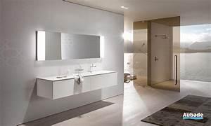 meubles salle de bains blanc keuco edition 11 espace aubade With meuble salle de bain keuco