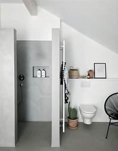 Bilder Im Badezimmer Aufhängen : beton cir tolle ideen mit dem effektputz in betonoptik ~ Eleganceandgraceweddings.com Haus und Dekorationen