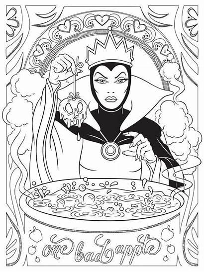 Queen Evil Disney Fun Coloring