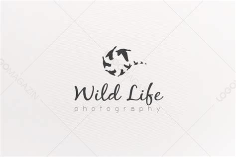 photography wildlife logo logo templates  creative market