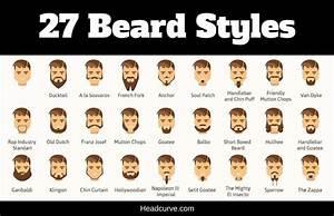 27 Beard Styles For Men  Illustrated Chart