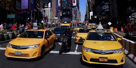 Uber Reaches Tipping Point In New York City Hurts Taxi
