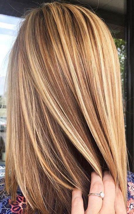 ideas  brown  blonde highlights