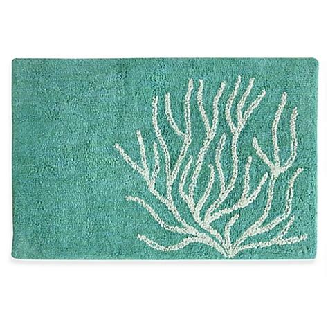 bacova coral bath rug bed bath