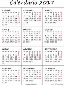 calendario mensile 2017 da stare calendario annuale