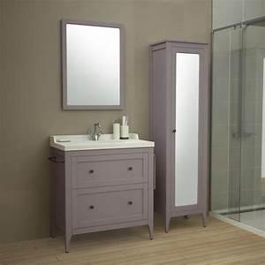 Salle De Bain Le Roy Merlin : meuble de salle de bains leroy merlin valdiz ~ Premium-room.com Idées de Décoration