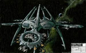 Cardassian space station by John Eaves – Forgotten Trek