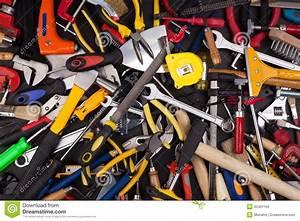 Miscellaneous Work Tools Stock Photo - Image: 42401159