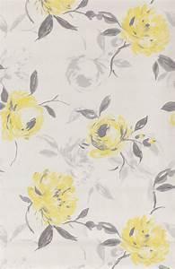Le Papier Peint Jaune : les 25 meilleures id es concernant papier peint fleurs ~ Zukunftsfamilie.com Idées de Décoration